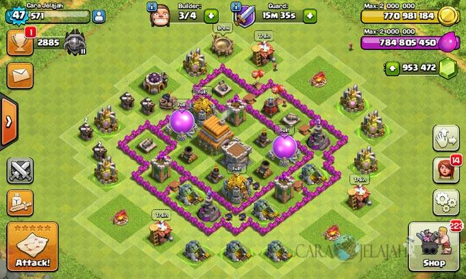 pertahanan terbaik untuk base war th 6 di clash of clans 5