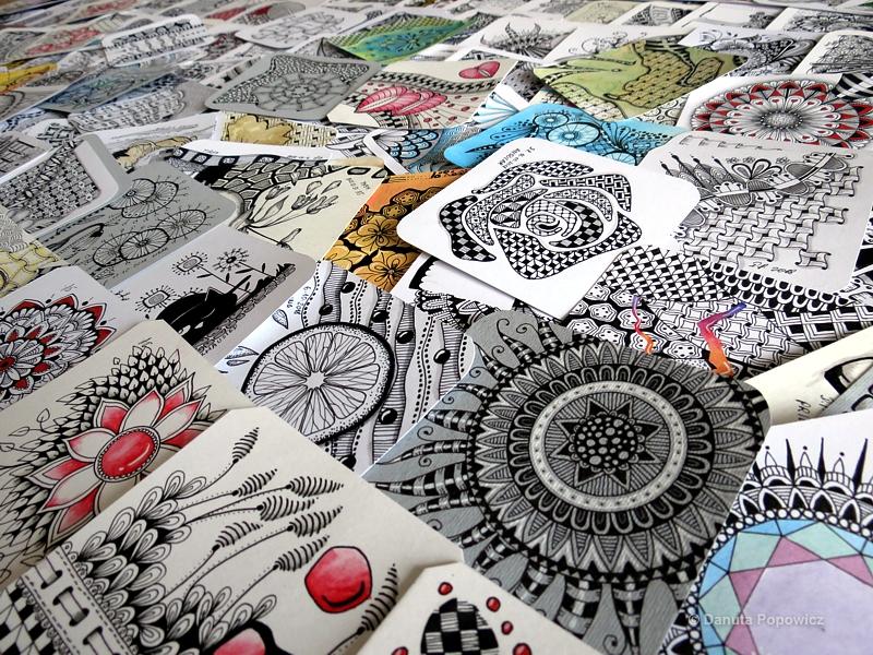 kolekcja Zentangle