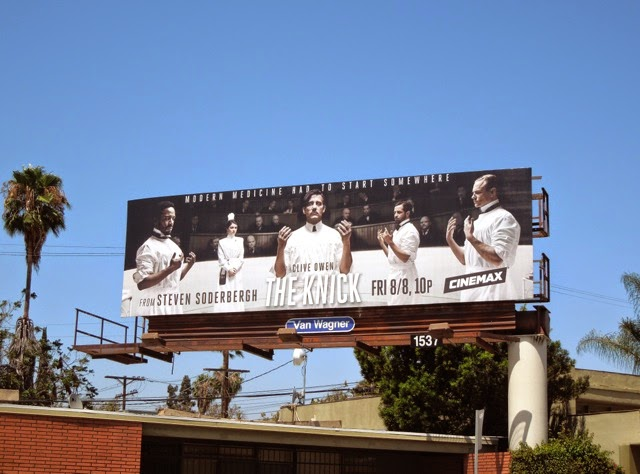 The Knick series premiere billboard