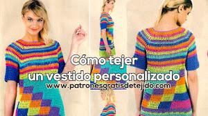 Cómo tejer un vestido personalizado a crochet 💚💛