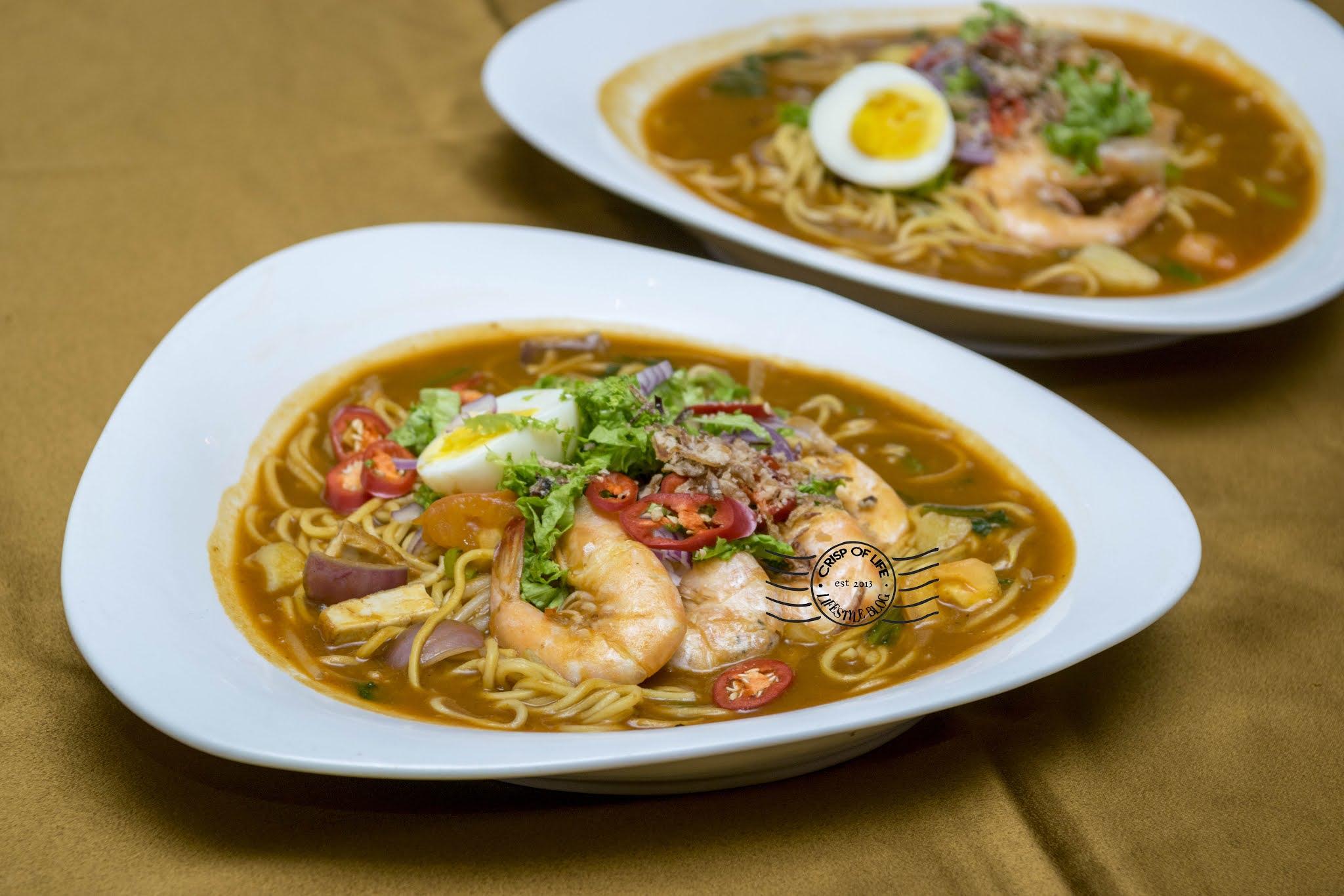 Kari Kepala Ikan Set & Mee Udang @ Hotel Royal, Penang