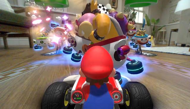 Mario Kart Live Home Circuit Koopalings Roy Morton Koopa high-five high-four warp pipes