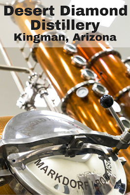 Stop in at Desert Diamond Distillery along Route 66 in Kingman, Arizona for a tasting and a tour.