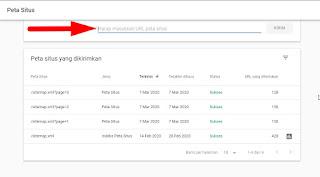 Cara Submit Sitemap (Peta Situs) Ke Google Search Console Yang Benar