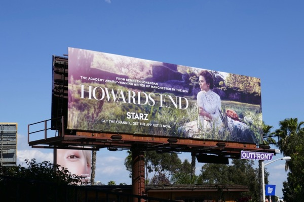 Howards End TV miniseries billboard