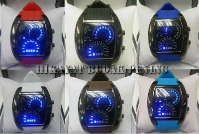 jam tangan rpm, rpm watch, speedometer watch