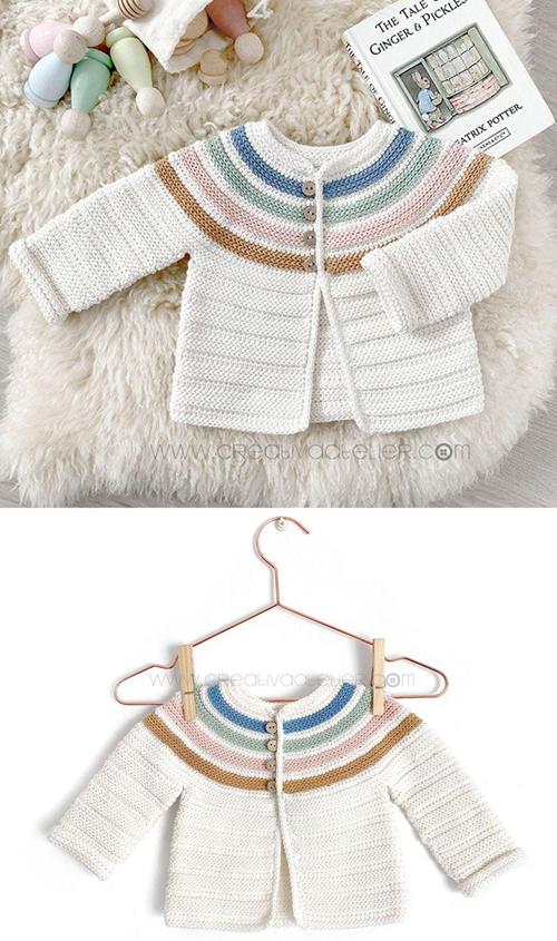 GINGER Crochet Jacket – Pattern & Tutorial