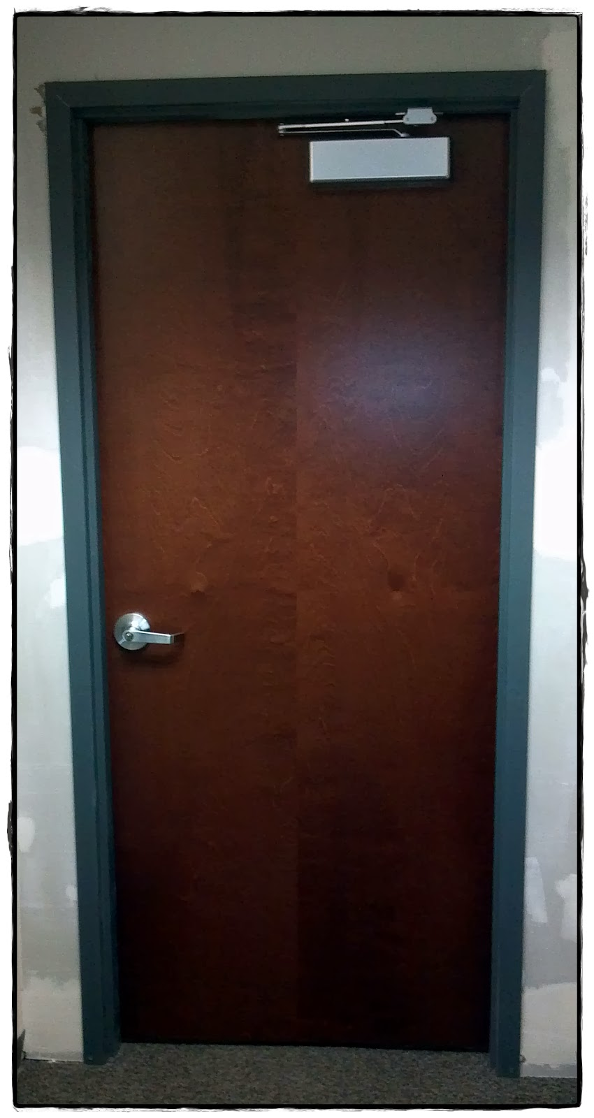 Factory prefinished commercial wood doors available from ...