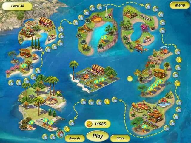 لعبة Paradise Beach 2