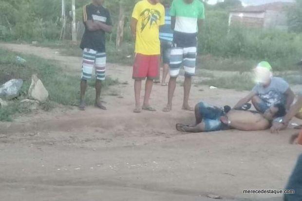 Homem é agredido a facada na Vila Augusto, em Brejo da Madre de Deus