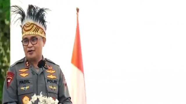 Irjen Fadil Jadikan Warga Papua di Jakarta Sebagai Agen