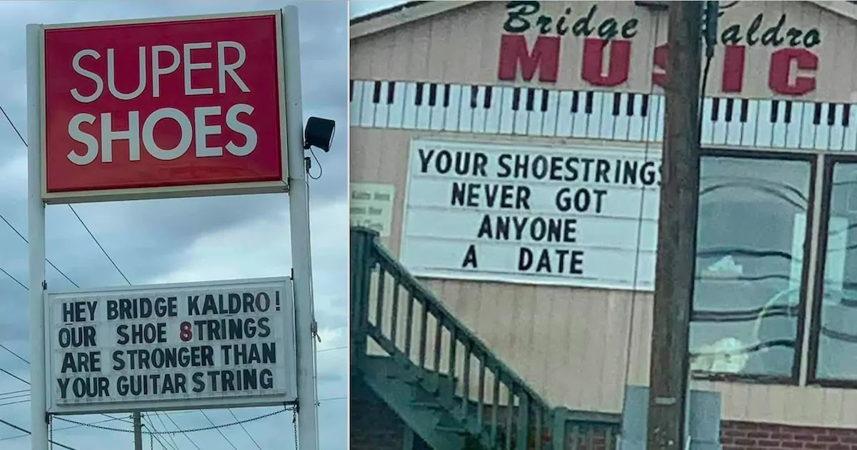 Local Businesses In Virginia Town Engage In Hilarious 'Sign War'