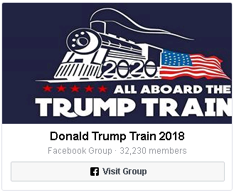 Join Donald Trump Train Group  🚂