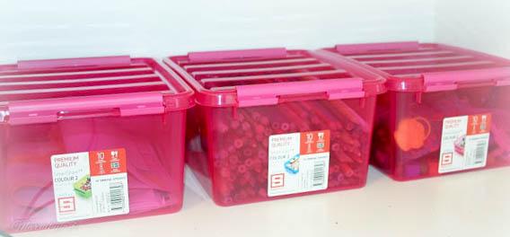 smartstore pink säilytyslaatikko tytön huone