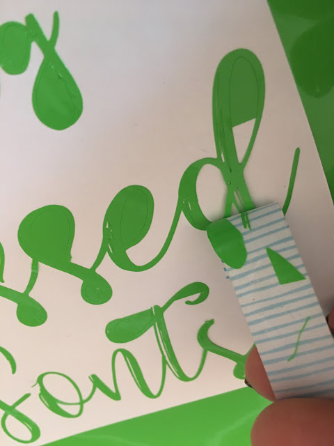 silhouette cameo weeding lines tutorial vinyl