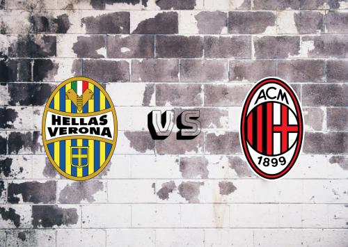 Hellas Verona vs Milan  Resumen y Partido Completo