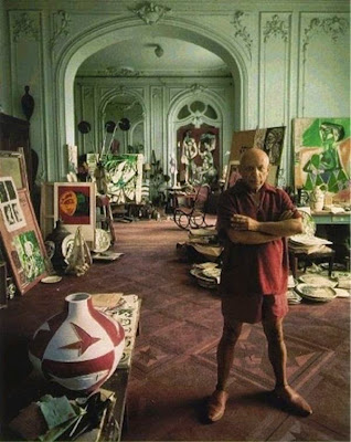 Workspaces Of The Greatest Artists Of The World (38 Pictures) - Pablo Picasso, artist