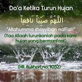 Download Doa Ketika Hujan Turun Sunnah Syari