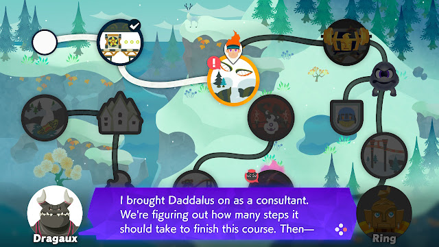 Ring Fit Adventure Dragaux hires Daddalus as consultant Mt. Fearmenot World 34