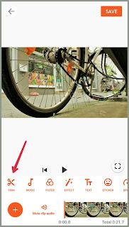 Pangkas video Tutorial edit Video YouCut