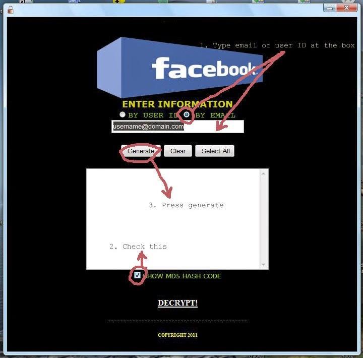 CyberHacks|Facebook Password Cracker
