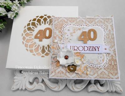 Z okazji 40 urodzin dla Pana
