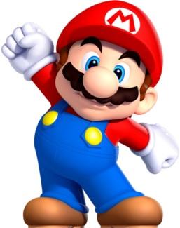 Dibujo de Mario Bros a colores para niños