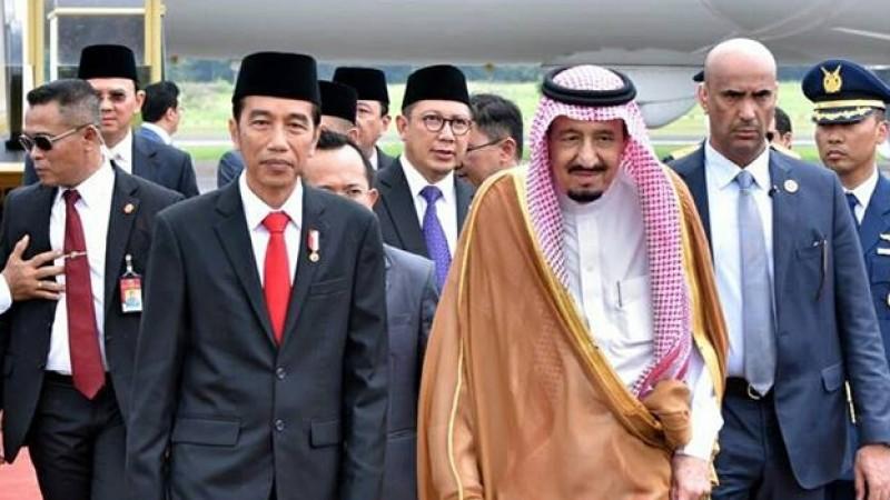 Jokowi dan Ahok sambut Raja Salman di Halim Perdanakusuma