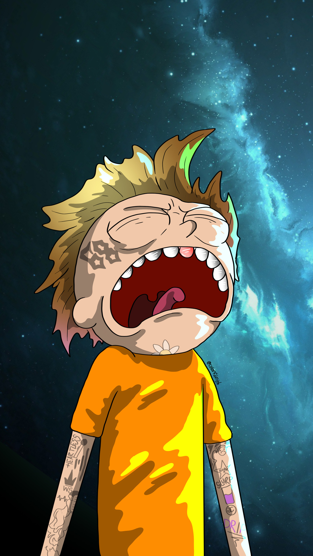 Crying Morty