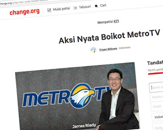 Boikot Metro TV di Change