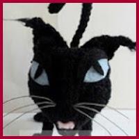 Gato de Halloween amigurumi