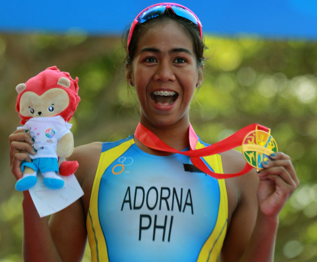 Marie Claire Adorna First SEA Games 2015 gold for Philippines
