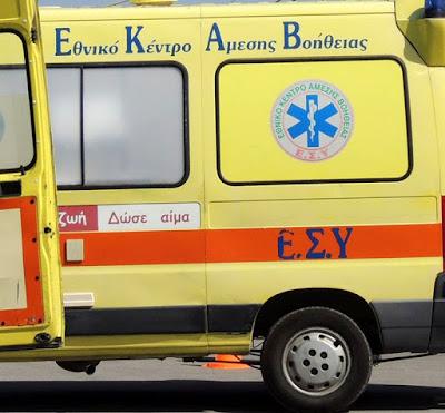 Γεννητούρια σε ασθενοφόρο του ΕΚΑΒ στην Κατερίνη σήμερα τα ξημερώματα!