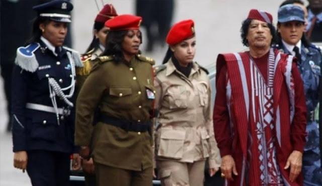 الحارسة الشخصية للقذافي تكشف سر تجنيده للنساء بعد صمت طويل