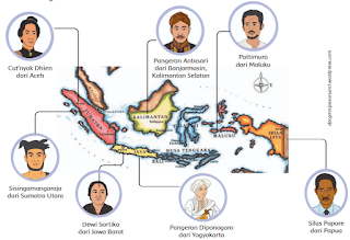 gambar pahlawan setiap daerah diindonesia www.simplenews.me