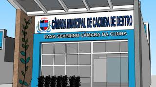 Câmara Municipal de Cacimba de Dentro PB, realizará na manhã desta terça-feira 5 seção extraordinária para eleger mesa diretora para segundo biênio