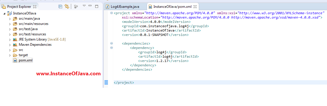 how to create log4j.properties file in eclipse