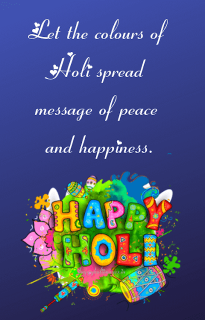 Happy Holi Status 2019