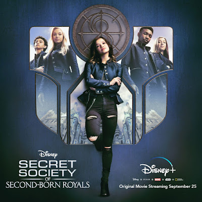 Secret Society of Second-Born Royals streaming September 25th
