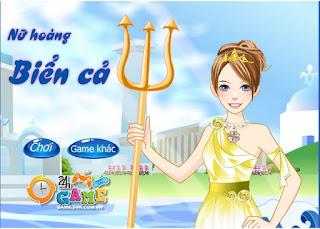 Game nữ hoàng biển cả xinh đẹp nhất