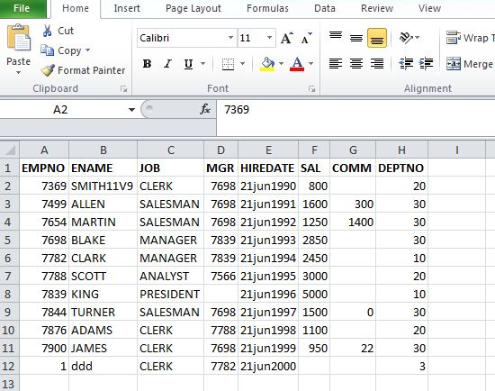 Generate insert and update statements from Excel sheet to import data