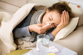 Persoana bolnava de gripa