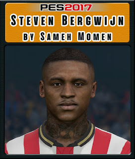 PES 2017 Faces Steven Bergwijn by Sameh Momen