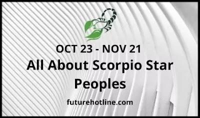 Scorpio star peoples Amazing information