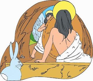 leyenda conejo de pascua