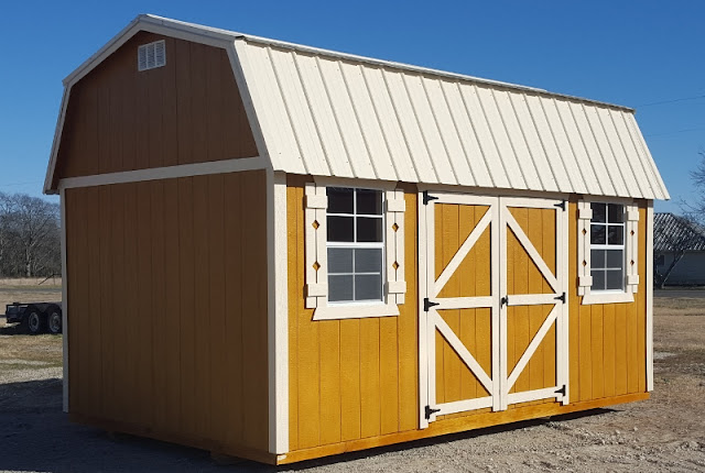 Building Price $3449.00. Rent To Own Pricing 24 Mo Monthly Payment $202.88. Tax $16.74. Liability Damage Waiver $4.95. Total Payment $224.57 & Wolfvalley Buildings Storage Shed Blog.: 10x16 Side Lofted storage ...