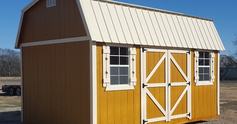 Wolfvalley buildings storage shed blog 10x16 side lofted for Side storage shed
