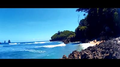 3 Warna Beach, One of The Most Beautiful Beach in East Java