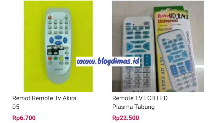 Kode Remot TV Akira