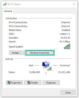 How to view saved Wi-Fi password in windows 7, 8 and 10